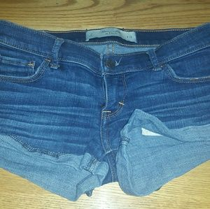 Size 2 A&F jean shorts